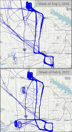 Bell Route Map Comparison