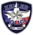 Image of the Keller Police Department's patch