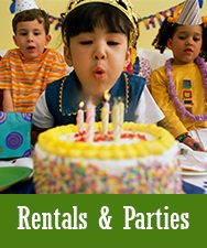 Button for Rentals and Parties Page