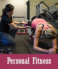 Button for Personal Fitness Page
