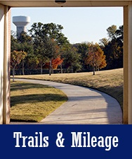 Button to Trails and Mileage Page