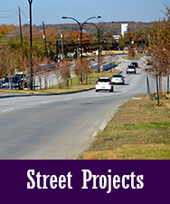 Street Projects Button