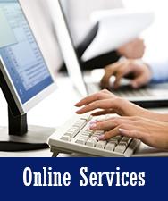 Online Services Button