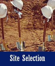 Site Selection Button