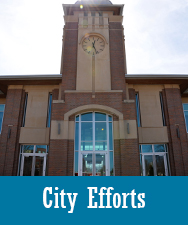 City Efforts Button