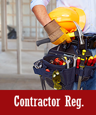 Contractor Reg Button