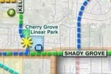cherry grove park location map