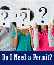 Need a Permit Button