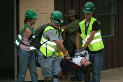 CERT carrying victim