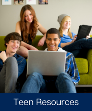 Teen Resources Button