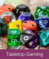 Tabletop Gaming Button