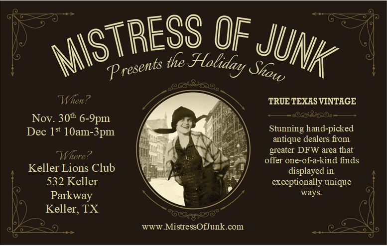 Mistress of Junk Holiday 2018 Flier