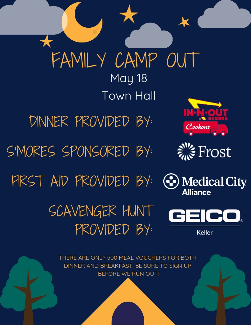 Flyer Family Camp Out 2019