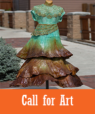 Call for Art Button