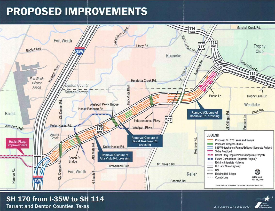 Hwy. 170 Proposed Improvements