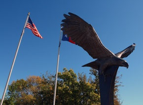 Photo of Protector of Freedom sculpture