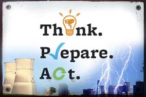 Think Prepare Act Logo