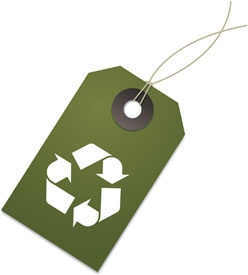 Image of a recycle symbol