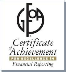 GFOA Excellence in Financial Reporting