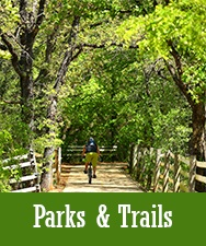 Button to Parks and Trails page