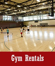 Button to Gym Rentals Page