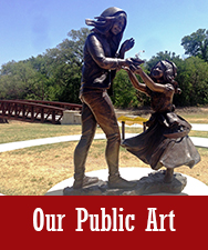 Our Public Art Button