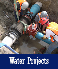 Water Projects Button
