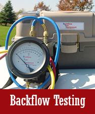 Backflow Testing Button