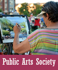 Public Arts Society Button