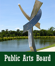 Public Arts Board Button