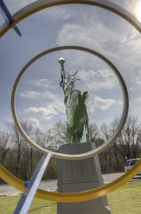 Statue of Liberty view finder