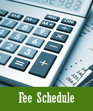 Fee Schedule Button